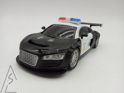阿莎力 遙控車 玩具車 警察 110 遙控警車 會閃光