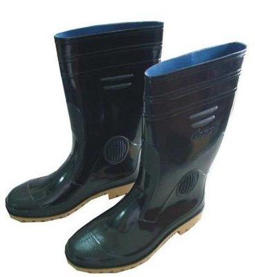 ☆°萊亞生活館~工作鞋-台灣製高級雨鞋【A195黑色膠鞋-男女款適用】