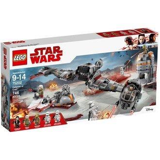 免運 LEGO 樂高積木 星際大戰系列-Defense of Crait LT-75202 【小瓶子的雜貨小舖】