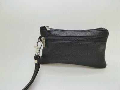 日式 真皮 超軟 皮革 質量保証 鎖匙包 散子包 卡包 錢包 wallet purse 零錢包 銀包 $26 包郵 大size