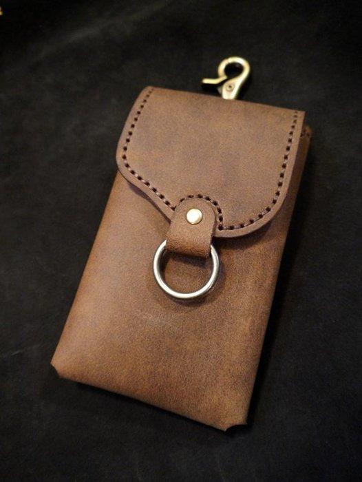 KH手工皮革工作室 iPhone 11 Pro Max 手機皮套專用賣場勾環腰掛犀牛盾空壓殼可用皮革縫線可自選免費燙字