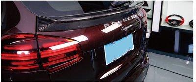 DJD19051605 Porsche 保時捷 Cayenne 碳纖維中尾翼 卡夢 CARBON