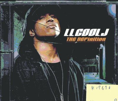 *真音樂* LL COOL J / THE DEFINITION 二手 K17670 (封面底破)