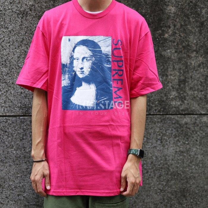 KS▸Supreme Mona Lisa Tee 18SS 粉藍 桃紅 蒙娜麗莎 照片T 短T 現貨【SUP386】