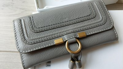 誠可議 CHLOE 皮夾 長夾 CHLOÉ Marcie leather wallet