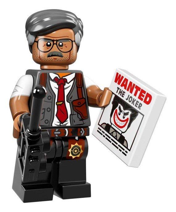 現貨【LEGO 樂高】Minifigures人偶系列: 蝙蝠俠電影人偶包抽抽樂 71017 | #7 局長高登+通緝令