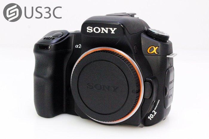 【US3C】公司貨 Sony A200 DSLR-A200 單機身 單眼相機 A接環 1020萬畫素 防手震 二手相機