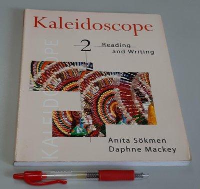 Kaleidoscope 2 英文檢定GEPT中級Reading and Writing 閱讀與寫作【書況佳 未使用】