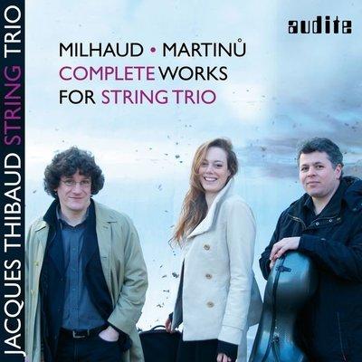 米堯&馬替奴:弦樂三重奏集 Milhaud & Martinu: Works for String Trio-97727