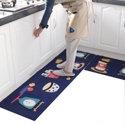 日和生活館 廚房地墊防滑防油門墊進門腳踏墊浴室吸水地毯長條耐臟可機洗地墊S686