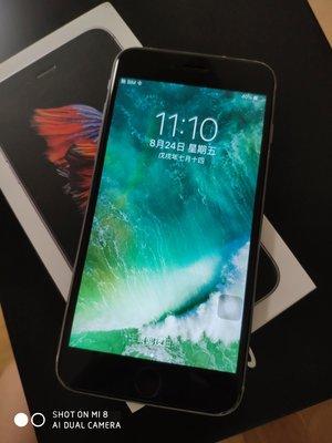 iPhone 6S plus 128G 黑灰 8成新二手,包膜,正常使用痕跡  i6s+