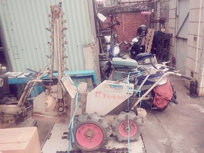 【無現貨-供參考】擎揚機電 BARONESS 共榮社 TL-44D 挖溝機 日本外匯 二手中古