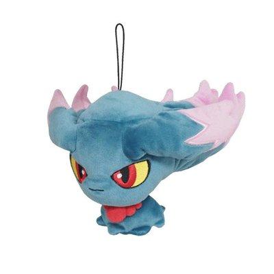 尼德斯Nydus~* 日本正版 神奇寶貝 精靈寶可夢 Pikachu 皮卡丘 絨毛玩偶 娃娃 夢妖 約12cm