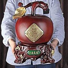 〖洋碼頭〗創意禮品可愛儲錢罐超大號存錢罐成人大號家居擺件蘋果零錢儲蓄罐 tmj159