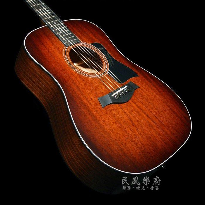 《民風樂府》美廠 Taylor 320E 全單板電木吉他 最後一把超低價出清 歡迎來電詢價