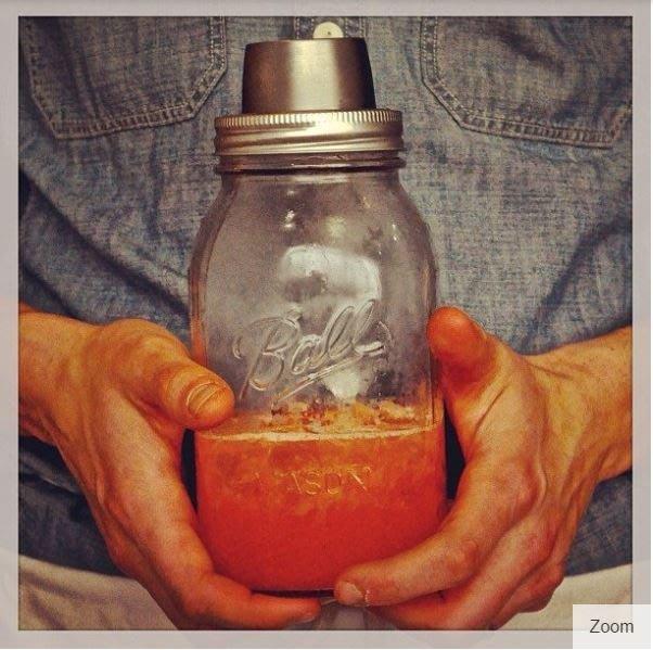【激安殿堂】Cuppow Shaker 玻璃〖窄口〗雪克杯( 透明 玻璃罐 玻璃瓶 果醬罐 保養品罐 可樂罐 )