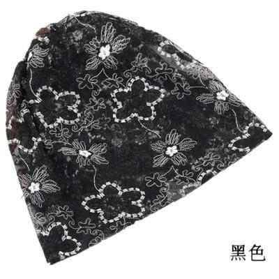 女夏季薄款套頭帽堆堆帽時尚月子帽包頭帽透氣休閑帽套脖兩用帽潮/優品小舖/