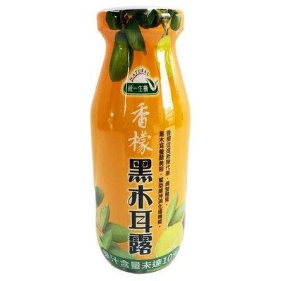 統一生機 香檬黑木耳露(200mlx24瓶)限宅配