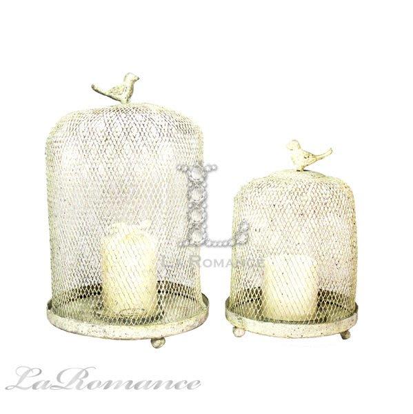 【芮洛蔓 La Romance】 Mindy Brownes - 大小鳥籠造型燭台