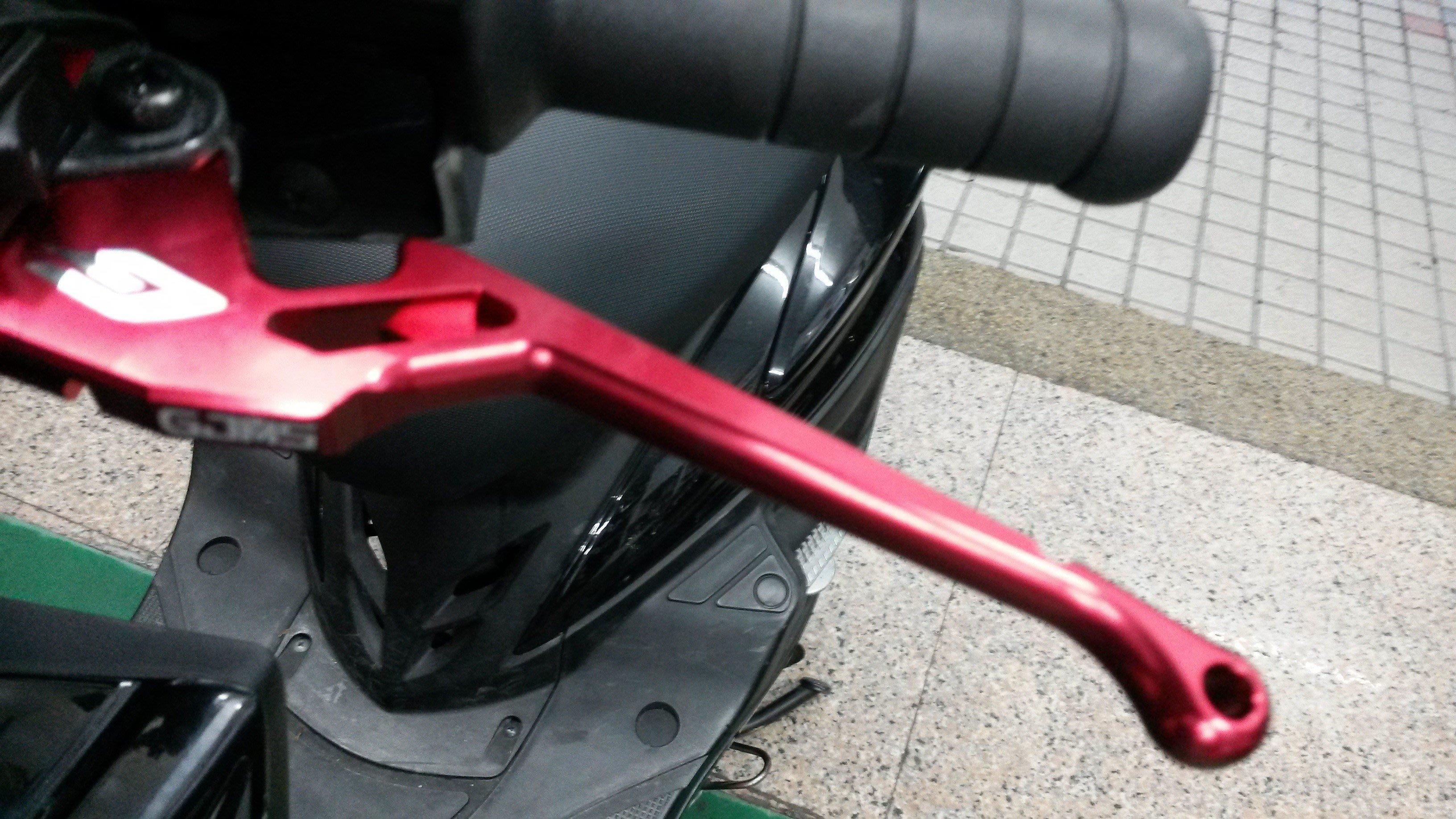 欣輪車業  勁戰 新勁戰 戰將 BWS GTR 鋁合金平面 牛角拉桿 GJMS 自取價650元