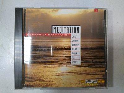 昀嫣音樂(CD69)  MEDITATION CLASSICAL RELAXATION VOL.4 美國壓片 保存如圖