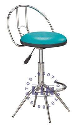 【品特優家具倉儲】5621-01吧台椅櫃檯椅D型電鍍俏麗吧台椅
