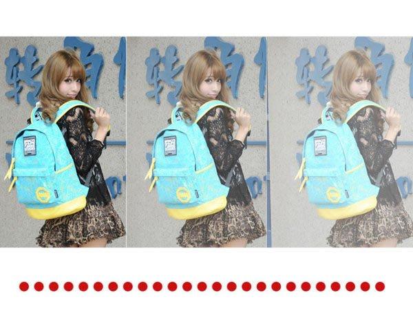 5Cgo 【鴿樓】含稅會員有優惠 17520056140  中學生書包雙肩包 男女韓版潮學院風背包 帆布旅行包電腦包