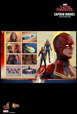 全新未開 Captain Marvel mms521 普通版 驚奇隊長 4 hot toys Hottoys