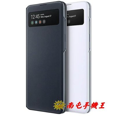 @南屯手機王@ Galaxy Note10 Lite 透視感應皮套 黑【直購價】