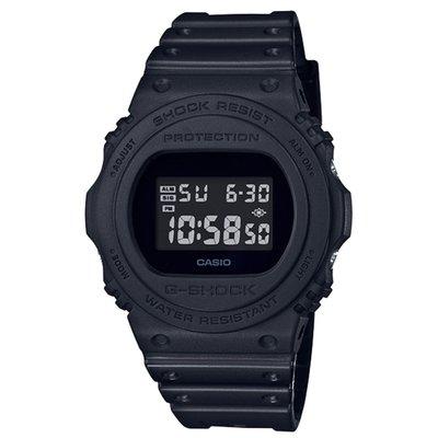 CASIO G-SHOCK DW-5700 series DW-5750E-1B 全黑色 GSHOCK DW5750E