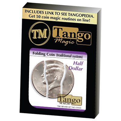 【天天魔法】【S794】正宗原廠~美金五角三折幣~Folding Coin Half Dollar by Tango