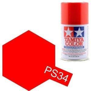 大千遙控模型 田宮 TAMIYA 遙控車專用噴漆 PS-34 鮮紅色