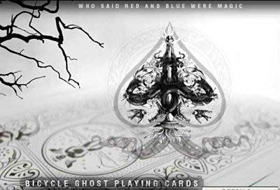 【意凡魔術小舖】全新BICYCLE GHOST白幽靈牌 魔術專賣店
