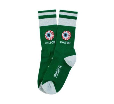 [Spun Shop]Mishka Keep Watch Classic Socks眼球中筒襪