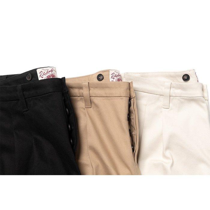 美國東村【Retrodandy】50's 打摺傭兵軍褲 Wide-leg Trousers - 米白 黑色 卡其
