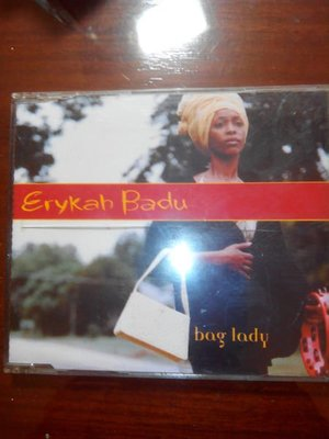 (文子的CD賣場 )艾莉卡.芭朵-Erykah Badub   bog lady  稀少版 remix