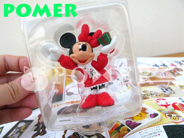☆POMER☆日本東京迪士尼樂園 絕版正品 活動限定 非賣品 米妮 聖誕節 禮物 紅色 可愛 精緻 立體公仔 擺飾 裝飾