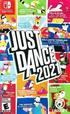 【二手遊戲】任天堂 SWITCH NS 舞力全開2021 舞動全身 跳舞 JUST DANCE 2021 中文版 臺中