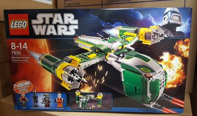 MISB LEGO STAR WARS - Bounty Hunter Assault Gunship (7930)