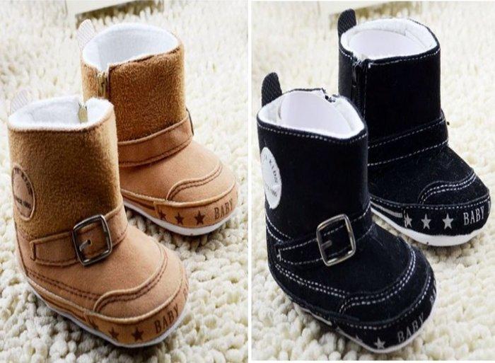 森林寶貝屋~時尚休閒雪靴~學步鞋~保暖鞋~寶寶鞋~嬰兒鞋~童鞋~學走鞋~彌月贈禮~2色發售~促銷價1雙125元