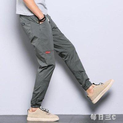 YEAHSHOP 九分褲男學生束腳褲秋季小腳哈倫Y185