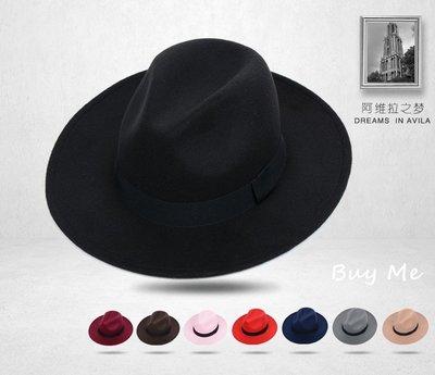 Buy Me 新款必推百搭復古造型英倫風紳士帽/ 爵士帽 多色選擇  特價SALE  現貨
