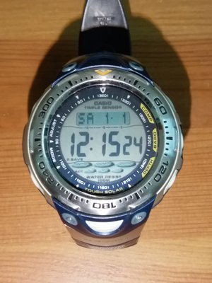 CASIO Sea-Pathfinder SPF- 70 (太陽能充電)
