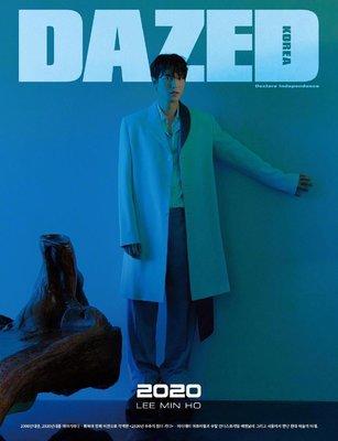 李敏鎬 封面 2020年1月 DAZED KOREA 雜誌 訂