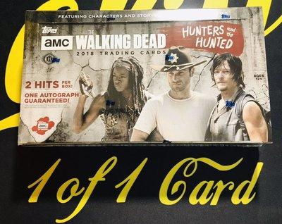 2018 Topps The Walking Dead Hunters and Hunted 行尸走肉 盒卡~鬼姐姐雜貨鋪