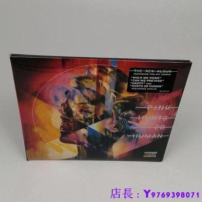 全新CD音樂 粉紅佳人 P!nk Pink Hurts  Human 專輯   車載CD