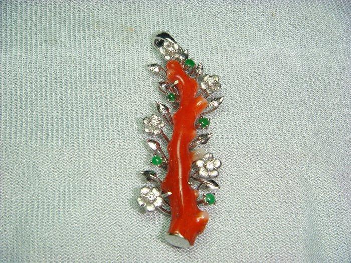 頂級天然阿卡(A-KA)珊瑚墬, 時尚設計, 時髦大方
