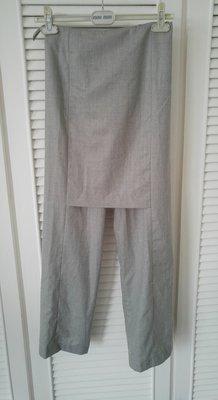 MARTIN MARGIELA 100% WOOL 灰色窄裙長褲