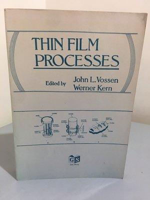 F14-1《好書321KB》Thin Film Processes/大專用書