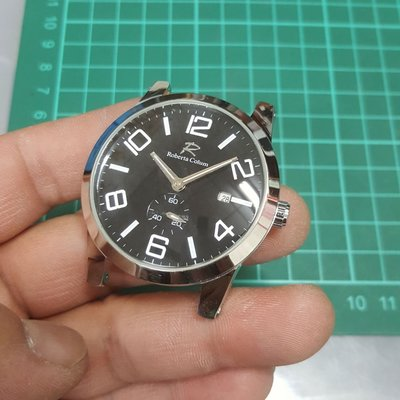 4.5cm 大錶徑 機械錶 漂亮 行走中 非Rolex ETA OMEGA 三眼錶 TELUX SEIKO s9
